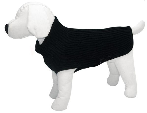 pull en laine Noirpu11