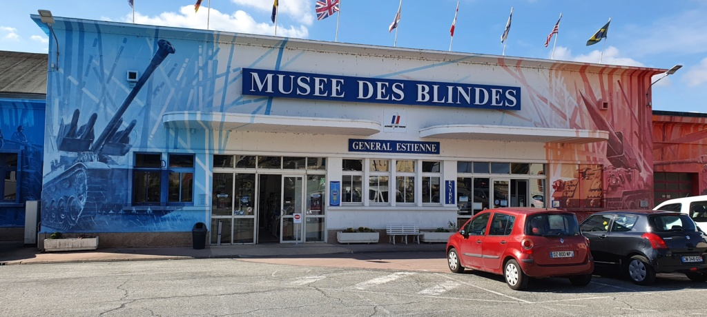 Musée des Blindés à Saumur (49). 20211012