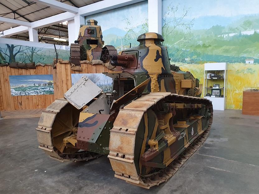Musée des Blindés à Saumur (49). 20211016