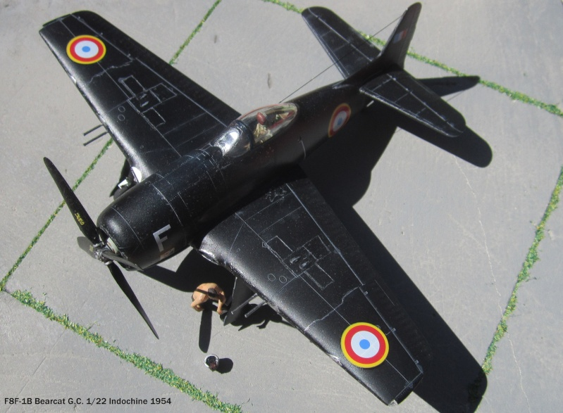 F8 Bearcat 1/48 Hobbyboss F8-00310