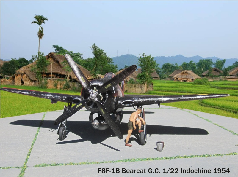 F8 Bearcat 1/48 Hobbyboss F8-00511