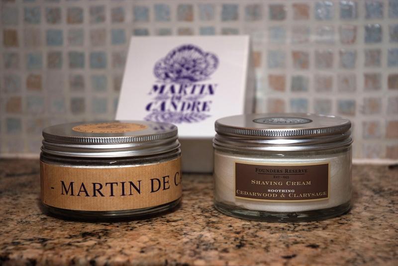 Savon de rasage Martin de Candre Mdcc10