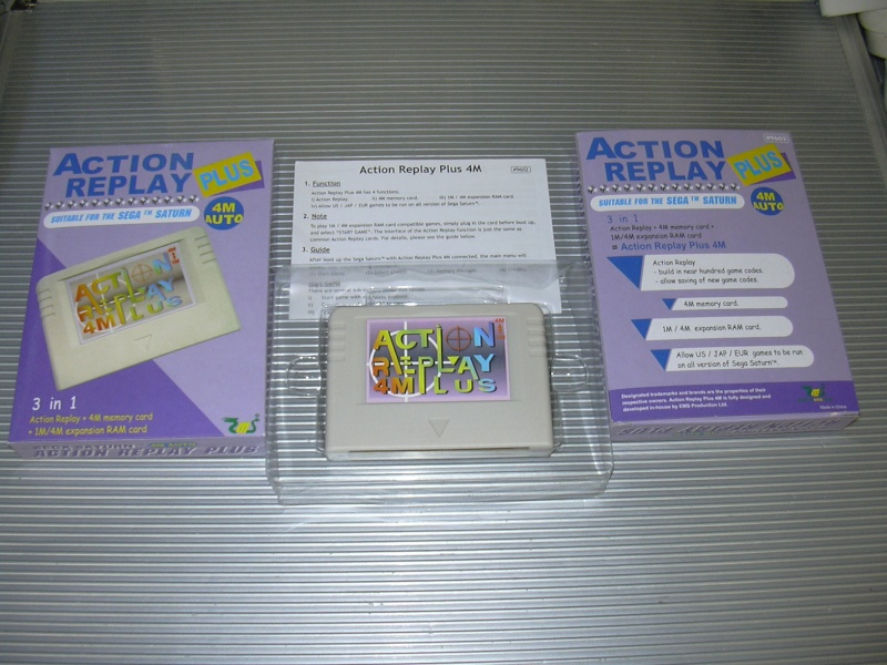 Dézonnage Saturn avec Action Replay Girard11