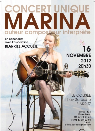 CONCERT DE MARINA à BIARRITZ Aff_le10