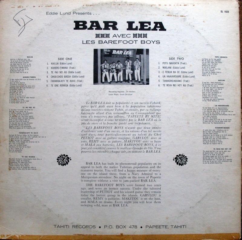 [Papeete] PAPEETE - LES BARS DURANT VOS CAMPAGNES - TOME 2 - Page 9 Bar_le11