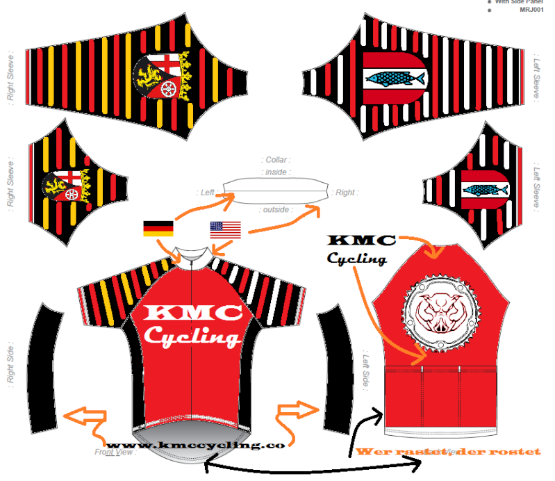 KMC Cycling Jersey - Design Submissions Kmc_ds11