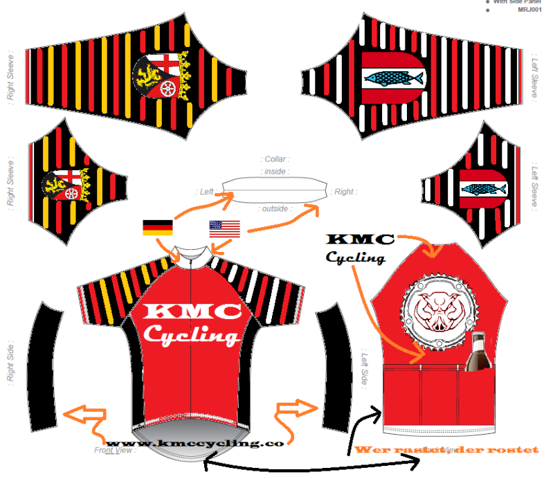 KMC Cycling Jersey - Design Submissions Kmc_ds12