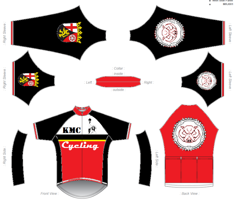 KMC Cycling Jersey - Design Submissions Kmc_re10
