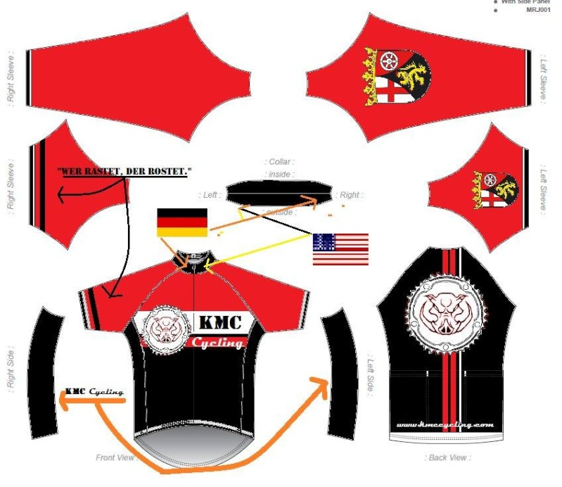 KMC Cycling Jersey - Design Submissions Raglan11