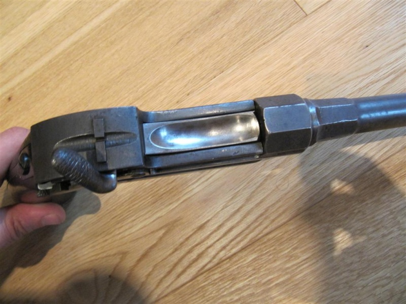 werder - pistolet de la cavalerie bavaroise : Werder Mle 1869 (et son rechargement) Img_4434