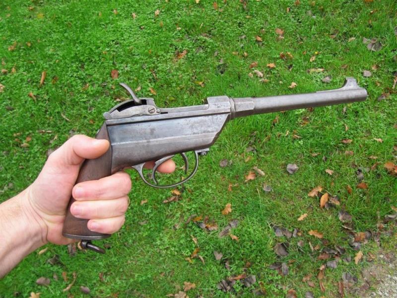 werder - pistolet de la cavalerie bavaroise : Werder Mle 1869 (et son rechargement) Img_4510