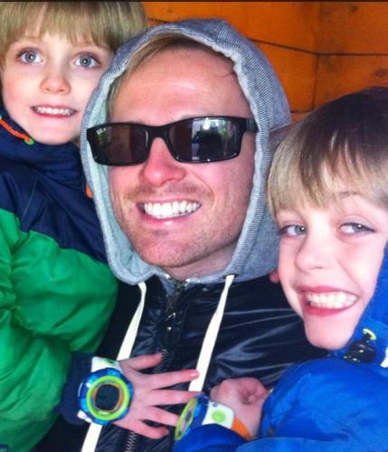 Los hijos de Nicky Byrne lloran por las críticas de Strictly 13353210