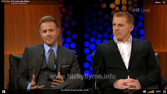 Nicky revela que el jefe del Celtic rechazó aparecer en Strictly. Image112