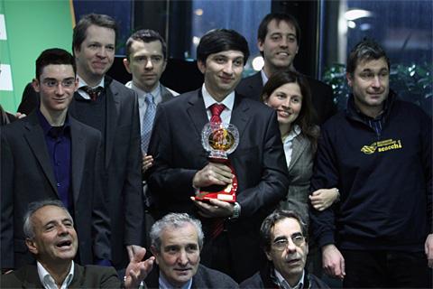 Reggio Emilio - Gashimov takes top honors on tiebreak Reggio11