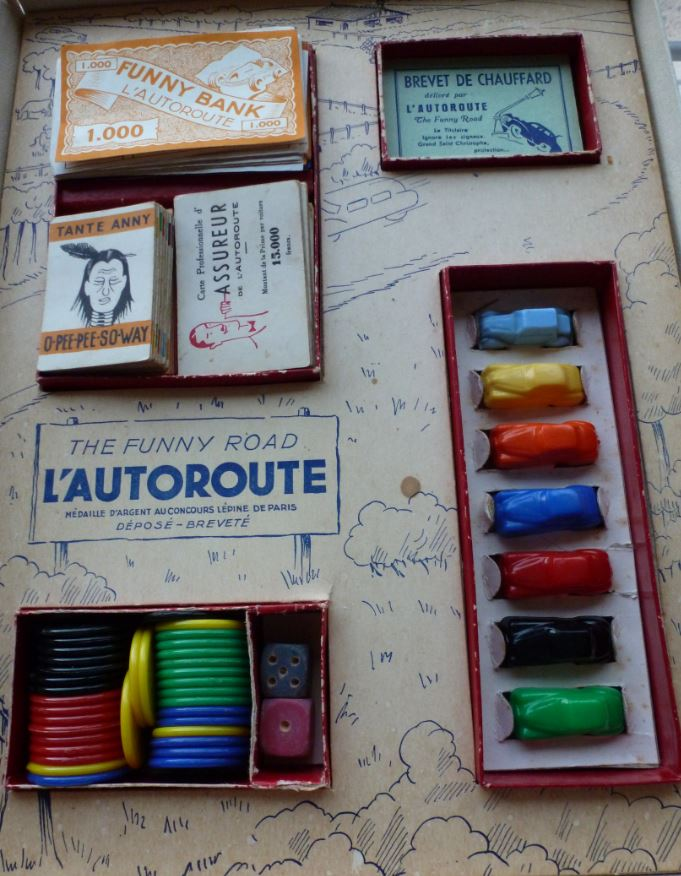 """L'autoroute """" The funny road """" Auto0310"""