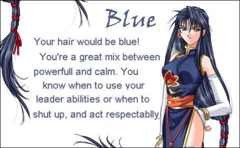 Test de que color sería tu cabello