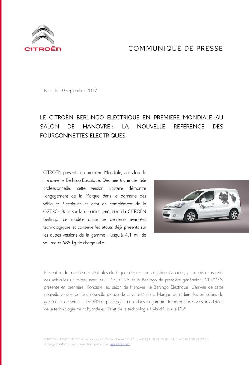 [DECLINAISON] Berlingo Electrique Cp_ber13