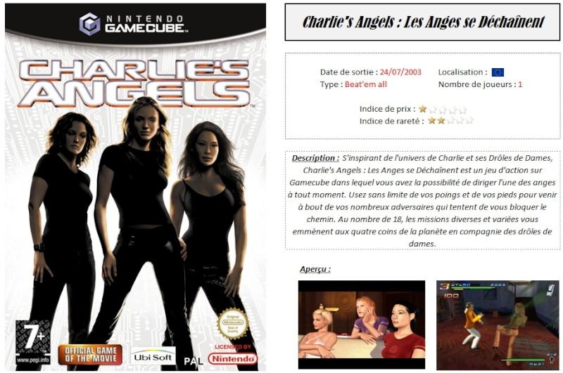 Charlie's Angels : Les Anges se Déchainent Fiche_14