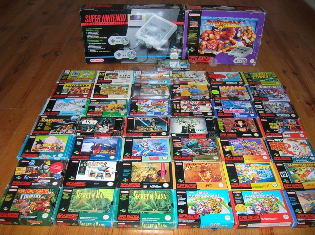 Collection de Dlm`` Snes110