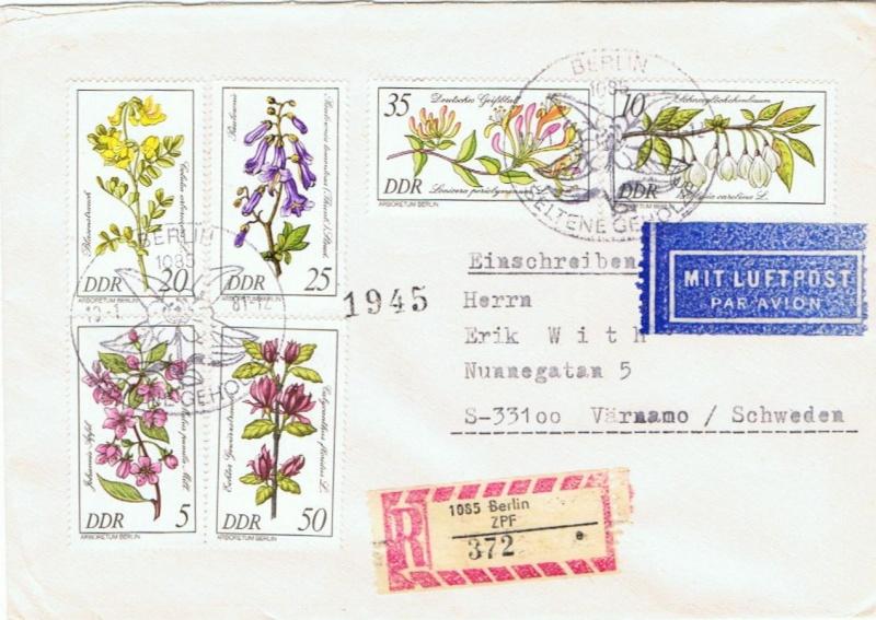 Schöne Briefe und Belege der DDR 2573_210