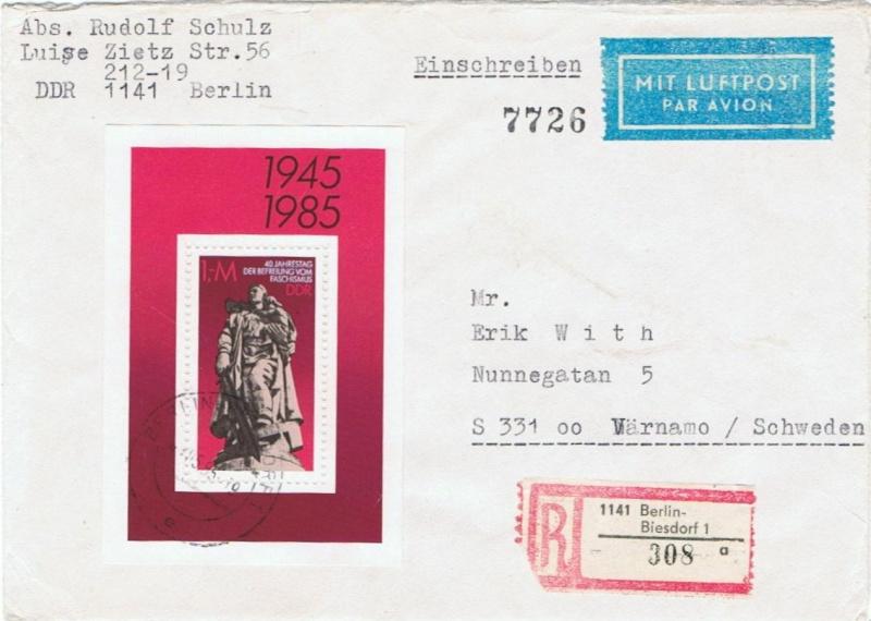Schöne Briefe und Belege der DDR 2945_b10