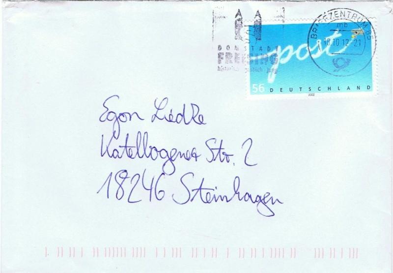 Stempel Deutsche Briefzentren 80 - 89 85_mb_10