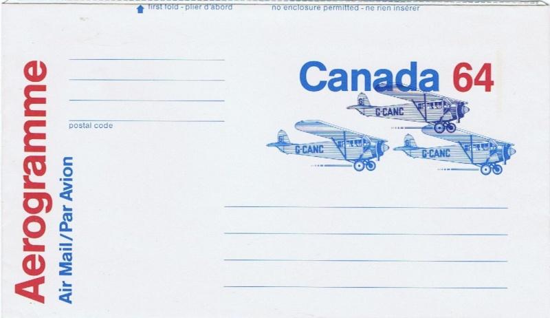 Kanada - Ganzsache Ua_43_10
