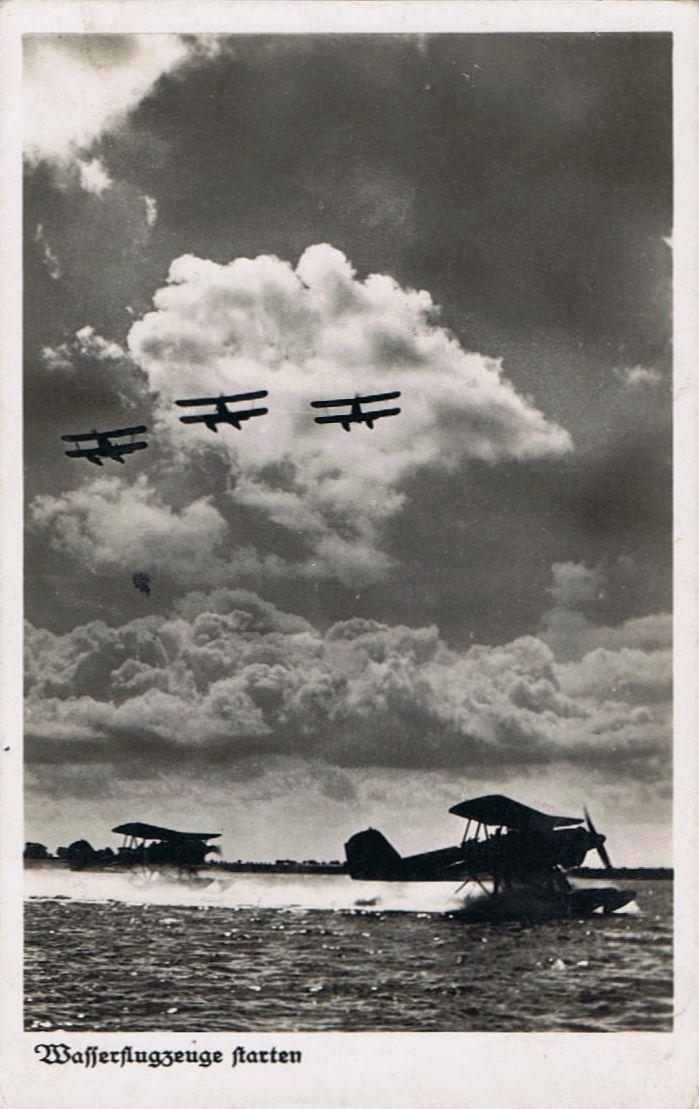 Einmotorige Flugzeuge Wasser10