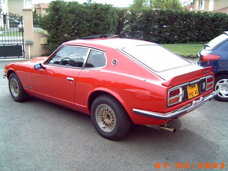 Datsun 260Z 2+2 rouge... présentation enfin!! Maison11