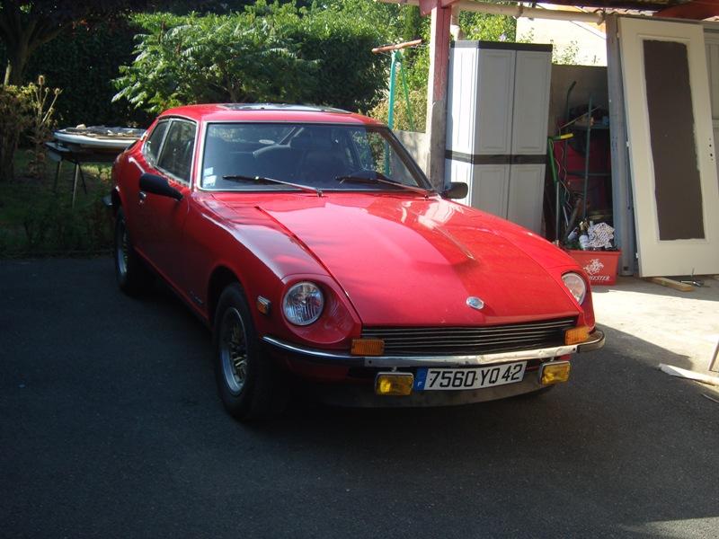 Datsun 260Z 2+2 rouge... présentation enfin!! Sn151217