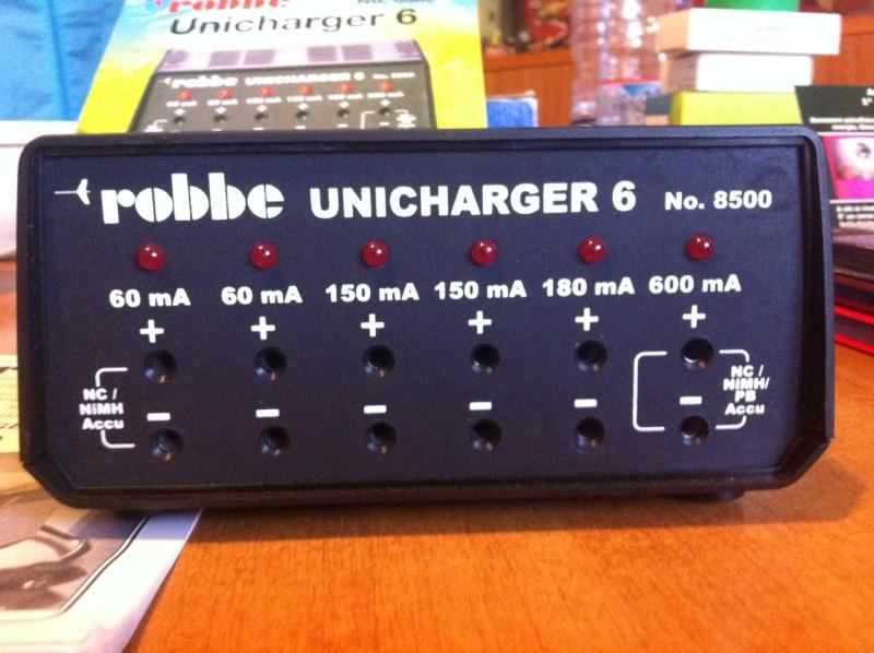 [VENDUTO] Vendo   Caricabatteria  Robbe  Unicharger 6 Foto_210