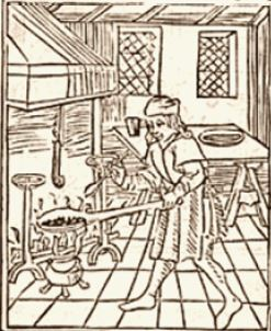 Quelques métiers médiévaux C112