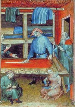 Quelques métiers médiévaux C512