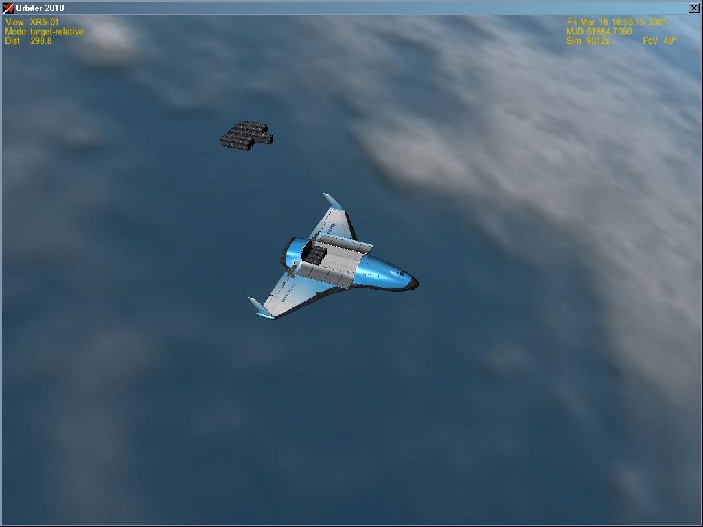 XR-5 dalla Luna a Marte con l'IMFD (video) 2012-010