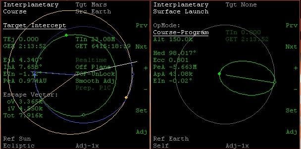 XR-5 dalla Luna a Marte con l'IMFD (video) 214