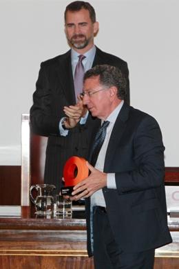 """Reconocimiento histórico a la ciudad de Logroño. Logroño recibe el galardón """"Ciudad de la Ciencia y la Innovación"""" El_pri10"""