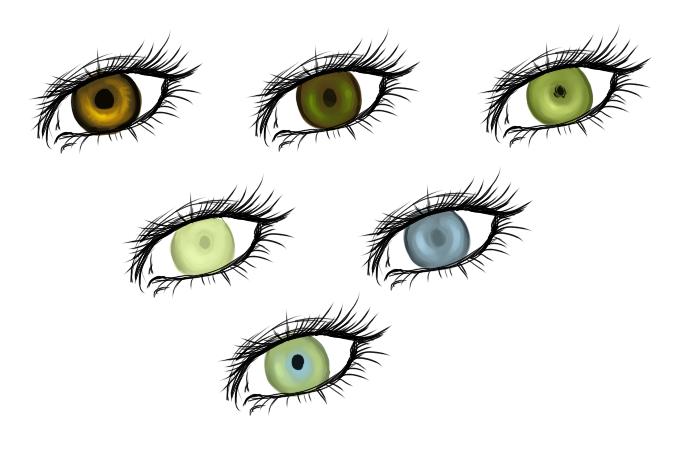 De Belorianske alvene Eyes110