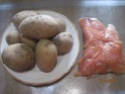 purée de pommes de terre au saumon rose gratinées.photos. Macmao12
