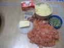 purée de pommes de terre au saumon rose gratinées.photos. Macmao13