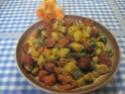 chorizo aux sautés de pommes de terre et de courgettes Muffin11