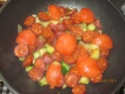 chorizo aux sautés de pommes de terre et de courgettes Muffin17