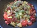 chorizo aux sautés de pommes de terre et de courgettes Muffin18