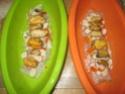 Papillote de Filet de Cabillaud aux Crustacés  Papilo17