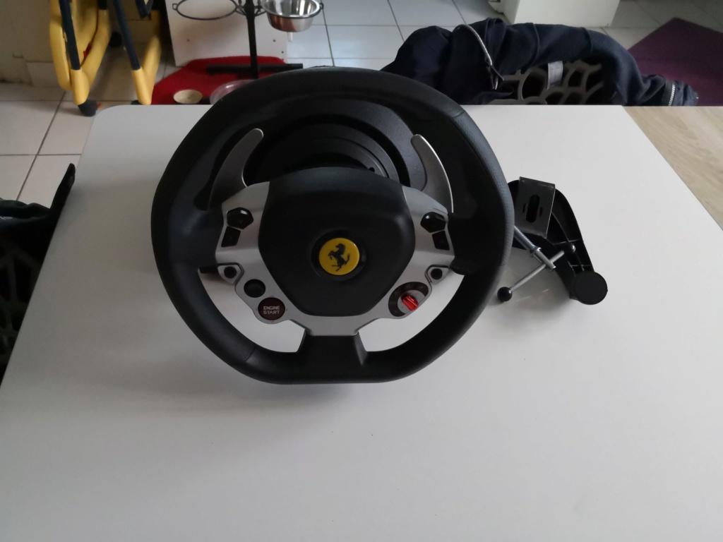 Vend thrustmaster tx, t3pa neuf, roue tx cuir Img_2011