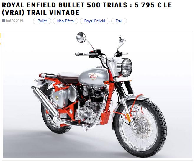 Royal Enfield Bullet 500 Trials Enfiel13