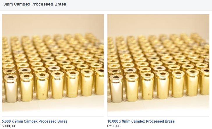 Douille 9mm traité camdex Brass_11