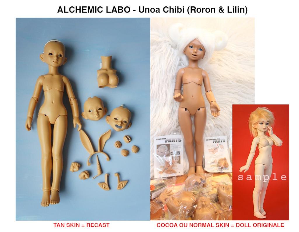 [Recast, contrefaçons, copies]  - Distinguer le vrai du faux Chibi10