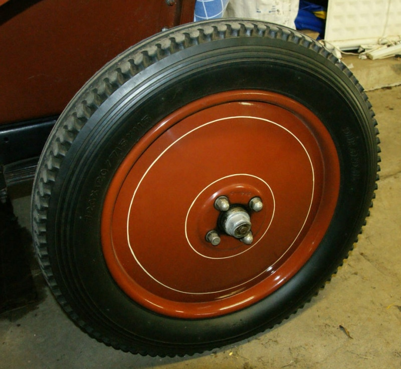 Pression des pneus Durand10