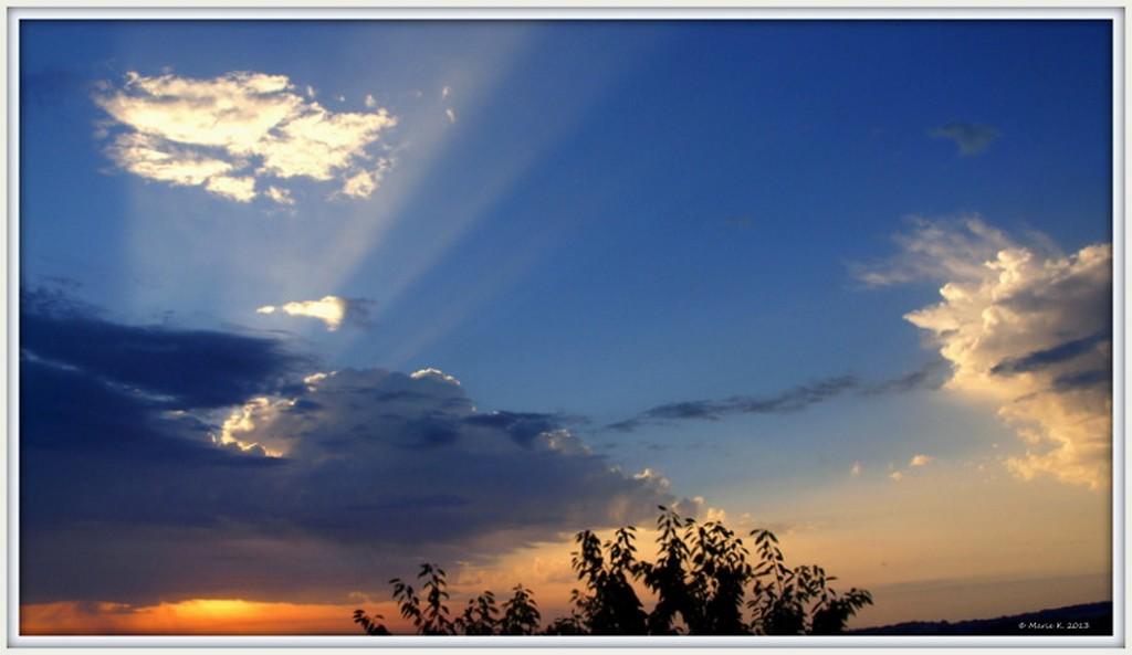 Lever du soleil, ce matin P8030713