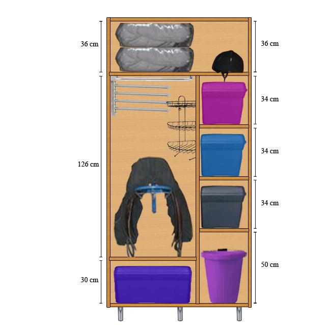 Fabrication d'une armoire de sellerie - Page 2 Armoir10